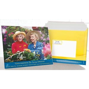 "CUSTOM ENVELOPE (12.5"" x 10"") Priority Mailer *Includes Full Color w/ High Gloss Finish"