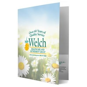 PRESENTATION FOLDER - Full Color Printing (Front/Back Cover & Pockets)