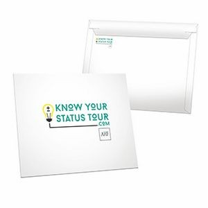 "ECONOMY CUSTOM ENVELOPE (12.5"" x 10"") *Includes Full Color Imprints w/ High Gloss Finish"