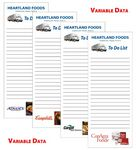 Custom Full Color Variable Data Scratch Pad - 3 5/8