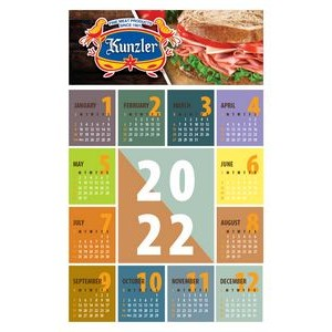 Poster Calendar/Year At A Glance/Style A Stock (11