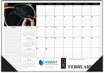 Custom Name Personalized Desk Pad Calendars - 17