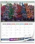 Custom 12 Photos Large Size Custom Wall Calendars - 8 1/2