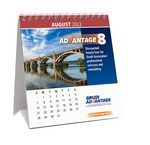 Custom 12 Photo Custom Desk Calendar - 4 3/4