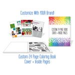 Custom Custom 24 Page Coloring Book - Cover & Inside Pages