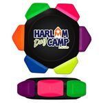 Custom Neon 6 Color Crayon Wheel with Full Color Decal