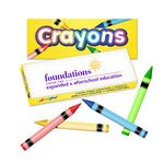 Custom Crayon Box - 4 Pack of Quality Crayons