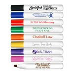 Custom Chisel Tip Low Odor Broadline Dry Erase Marker - USA Made