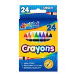 Custom 24 Pack of Crayons - Assorted Colors