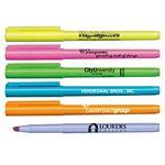 Custom Brite Spots Fluorescent Pocket Highlighter - USA Made