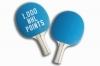 Custom Light Blue Ping Pong Paddle