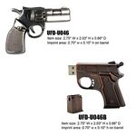 Custom Metal Gun Shaped USB drive - 16GB