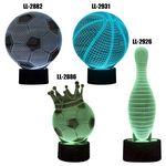 Custom Soccer 3D LED Lamp