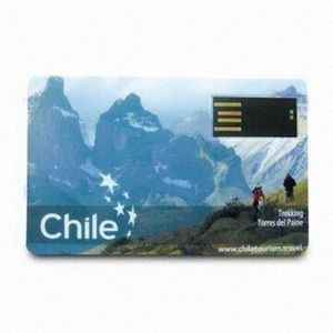 Full Color Credit Card Look USB Flash Drive - 32GB