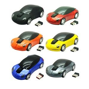 Sports Car Shaped Wireless Mouse