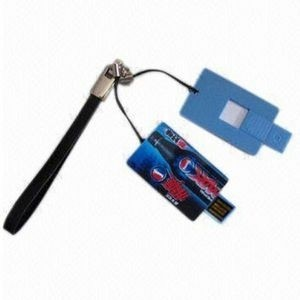 Small Credit Card Shaped USB Flash Drive - 64 GB
