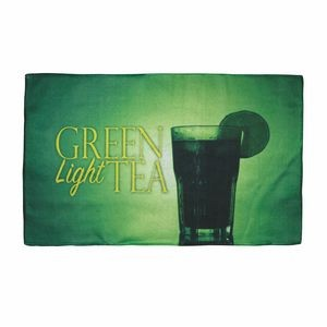 "Custom Sublimated Microfiber Rally Towel ( 11"" x 18"" )"
