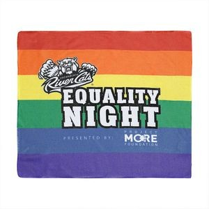 "Custom Sublimated Microfiber Rally Towel ( 15"" x 18"")"