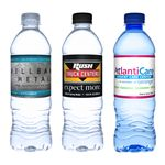 Custom 16.9 Oz. Custom Label Bottled Water (FOB California)