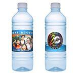 Custom Premium 16.9oz Custom Label Bottled Water