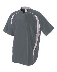 Custom Men's 1/4 Zip Batting Jacket