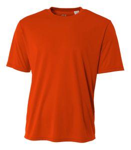 Custom Adult Short Sleeve Cooling Performance Crew Shirt