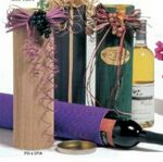 Custom Corrugated Wine Tube (2.5