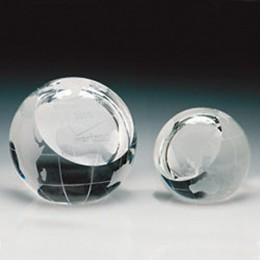 "Global Paperweight (2 1/8""x2 3/8""x2 1/4"")"
