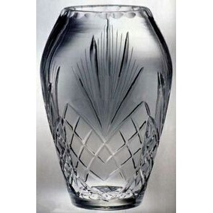 "Raleigh Cintura Award Vase - Lead Crystal (8""x5 1/4"")"