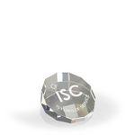 Custom DuoDecagon Paperweight/ Award - Optic Crystal