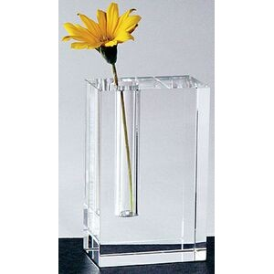 Amore Bud Vase - Optic Crystal