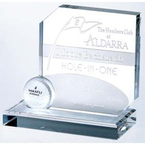 Hole-In-One Award - Optic Crystal