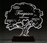 Custom Tree-of-Life Award on a Black Base - Acrylic (8