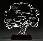 Custom Tree-of-Life Award on a Black Base - Acrylic (11
