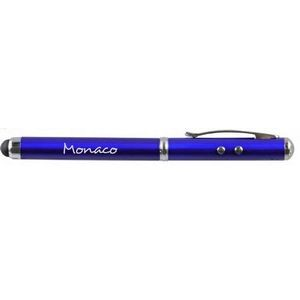 Monaco Ballpoint Pen, Stylus, Laser Pointer, & Flashlight