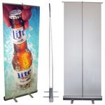 Custom 3rd QTR SPECIAL Banner Stand - EC1 (Economy Single Sided)