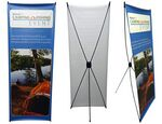 Custom Banner Stand - X Banner (Single Sided)