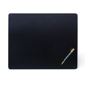 Custom Black Leatherette Classic Conference Pad with Metal Core (17