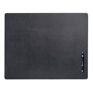 Custom Black Top Grain Leather Classic Conference Pad (24