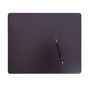 Custom Chocolate Brown Bonded Leather Conference Pad (17