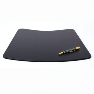 Custom Black Leatherette Classic Conference Pad For Round Tables