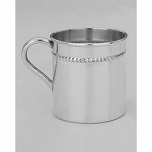 Reed & Barton Francis I Sterling Silver 4 Oz. Beaded Child Cup
