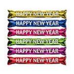 Custom Baton Bang Happy New Year - Assorted Colors