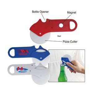 Pizza Cutter W/Bottle Opener