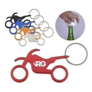 Motorcycle Bottle Opener w/ Key Ring