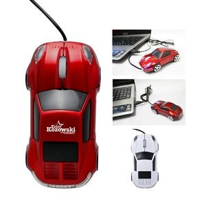 Car Shaped Wired Optical USB Mouse