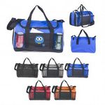 Custom 600D Poly Sport Duffle Bag