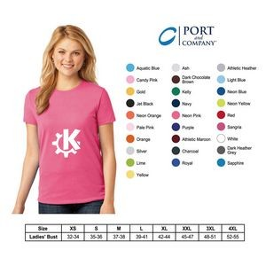 Port and Company?Ladies Tagless T-Shirt