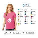 Custom Port and Company Ladies Tagless T-Shirt