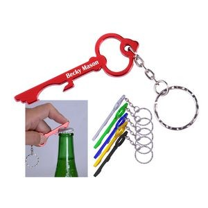 Key Bottle Opener with Key Chain